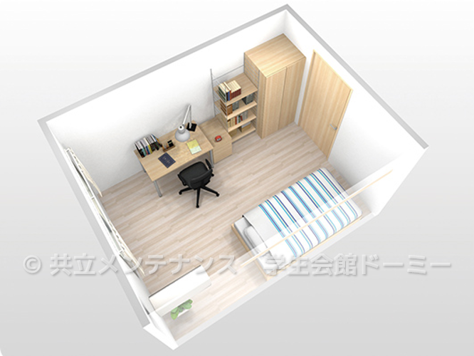 Furnished rooms with Wifi equipped